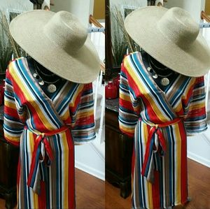 Dresses & Skirts - Stripped Multicolored Dress